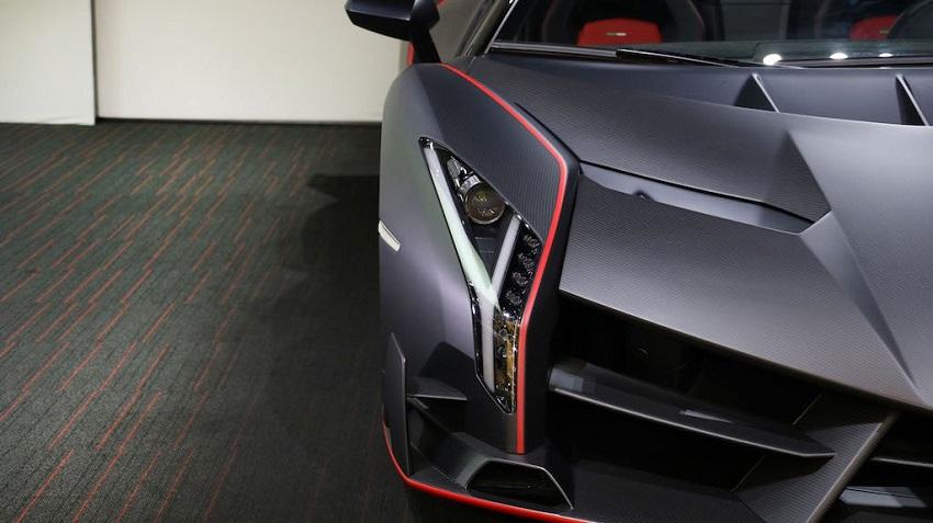 Lamborghini Veneno Roadster hàng hiếm với thiết kế thân xe làm bằng sợi carbon trần - 14