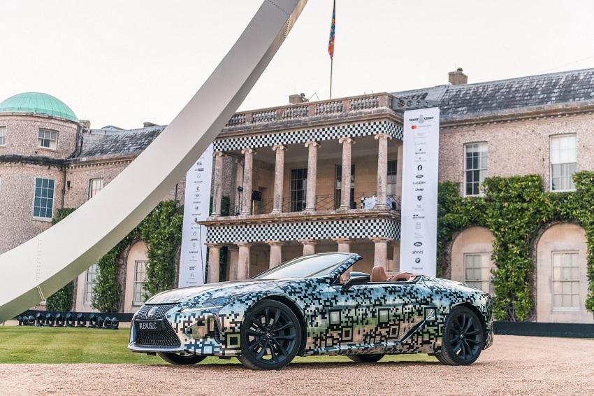 Lexus trưng bày nguyên mẫu LC Convertible tại Lễ hội tốc độ Goodwood - 10