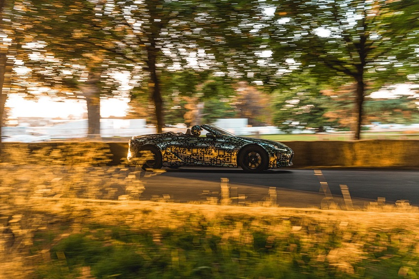 Lexus trưng bày nguyên mẫu LC Convertible tại Lễ hội tốc độ Goodwood - 11