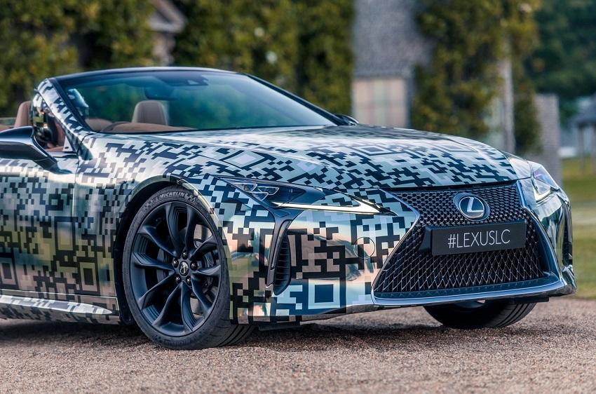 Lexus trưng bày nguyên mẫu LC Convertible tại Lễ hội tốc độ Goodwood - 12