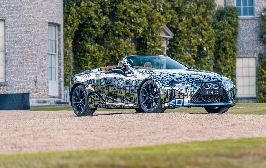 Lexus trưng bày nguyên mẫu LC Convertible tại Lễ hội tốc độ Goodwood - 13