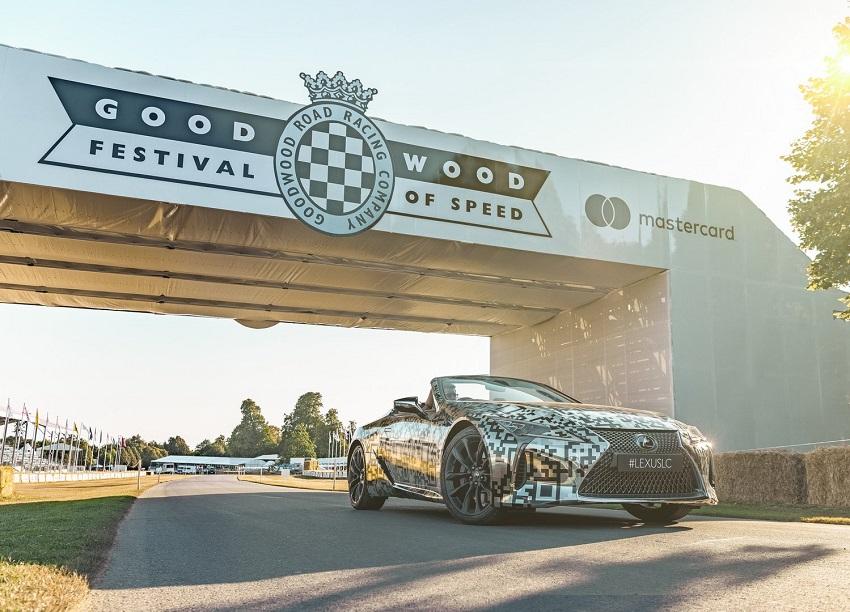 Lexus trưng bày nguyên mẫu LC Convertible tại Lễ hội tốc độ Goodwood - 2