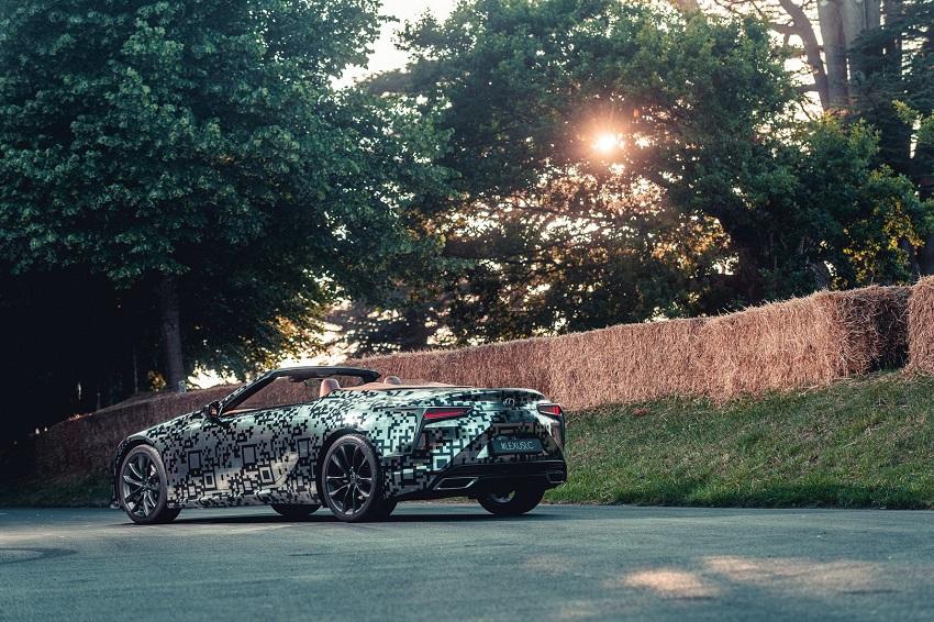 Lexus trưng bày nguyên mẫu LC Convertible tại Lễ hội tốc độ Goodwood - 4