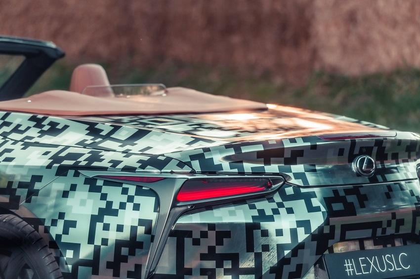 Lexus trưng bày nguyên mẫu LC Convertible tại Lễ hội tốc độ Goodwood - 5