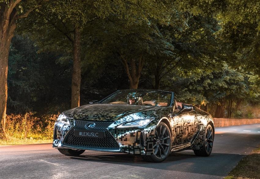 Lexus trưng bày nguyên mẫu LC Convertible tại Lễ hội tốc độ Goodwood - 9