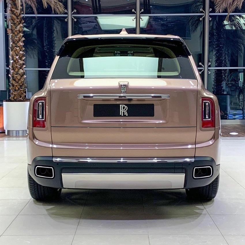 Petra Gold Rolls-Royce Cullinan sang trọng với thiết kế nội thất kiểu Moccasin - 21