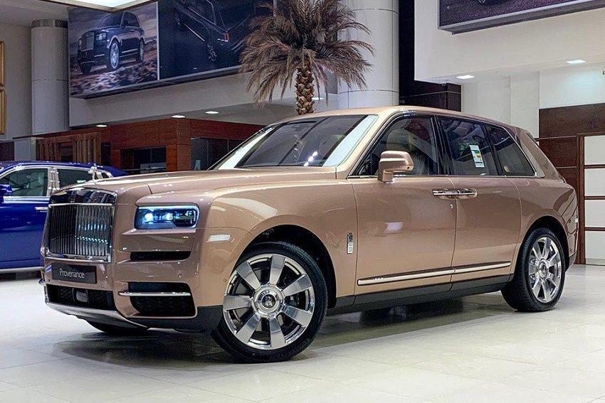 Petra Gold Rolls-Royce Cullinan sang trọng với thiết kế nội thất kiểu Moccasin - 23