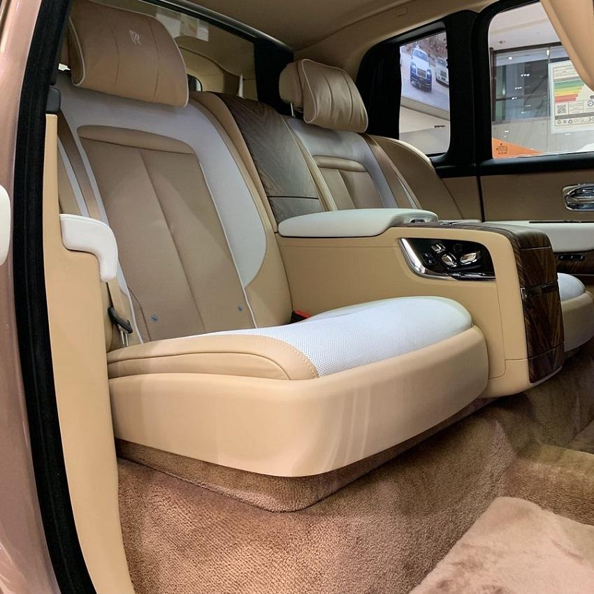 Petra Gold Rolls-Royce Cullinan sang trọng với thiết kế nội thất kiểu Moccasin - 4