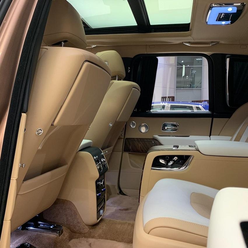 Petra Gold Rolls-Royce Cullinan sang trọng với thiết kế nội thất kiểu Moccasin - 5