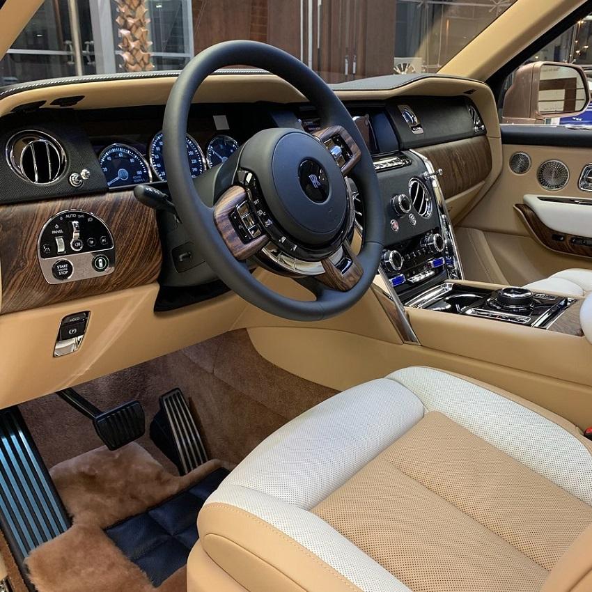 Petra Gold Rolls-Royce Cullinan sang trọng với thiết kế nội thất kiểu Moccasin - 6