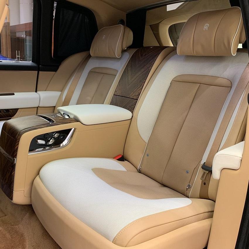 Petra Gold Rolls-Royce Cullinan sang trọng với thiết kế nội thất kiểu Moccasin - 7