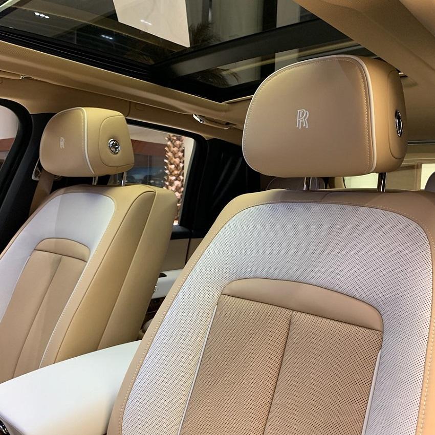 Petra Gold Rolls-Royce Cullinan sang trọng với thiết kế nội thất kiểu Moccasin - 8