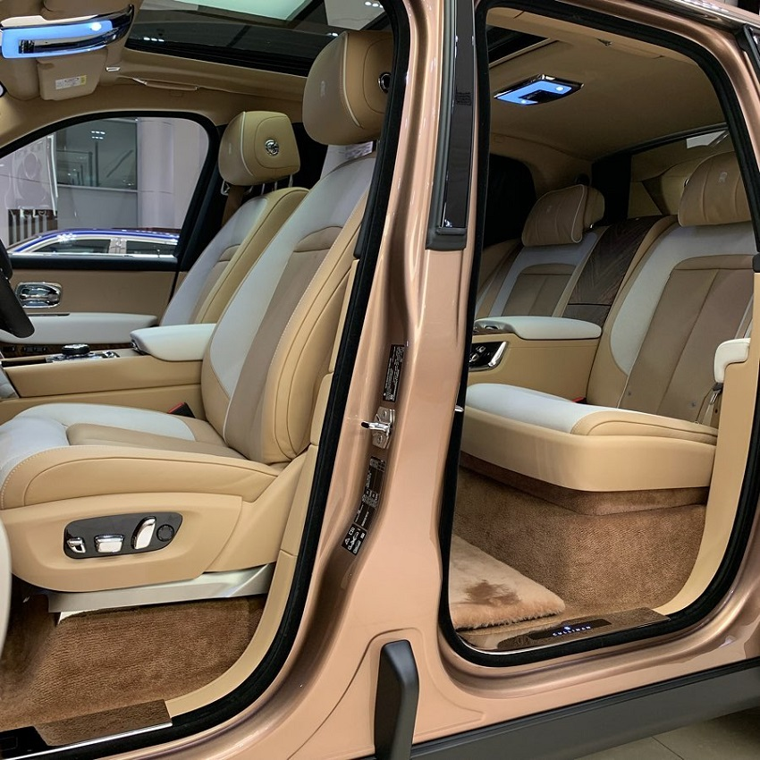 Petra Gold Rolls-Royce Cullinan sang trọng với thiết kế nội thất kiểu Moccasin - 9