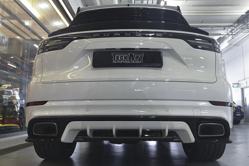 Porsche Cayenne được nâng cấp nhờ hãng độ TechArt - 4