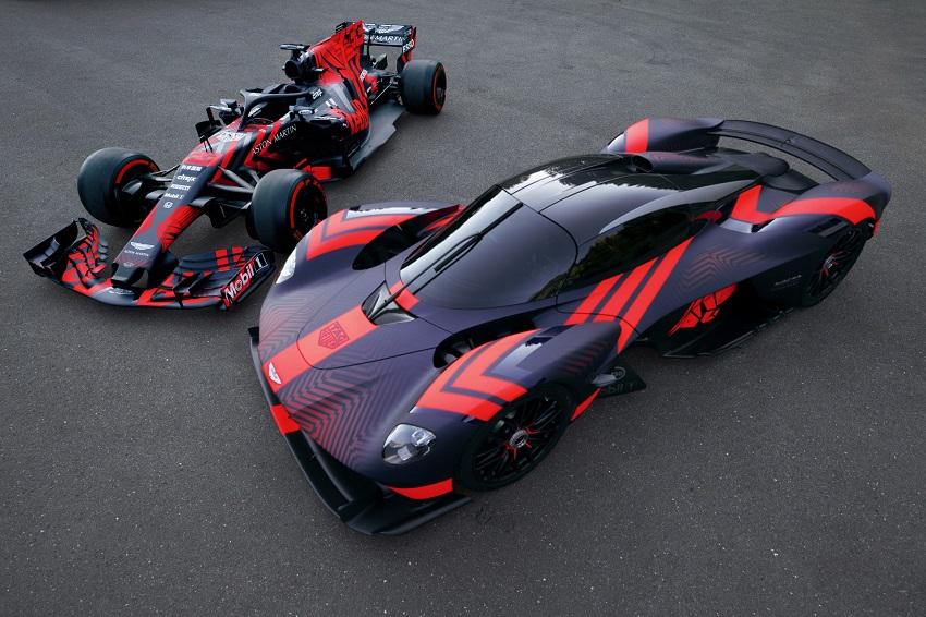 Siêu xe Aston Martin Valkyrie thể hiện sức mạnh tại Silverstone - 10