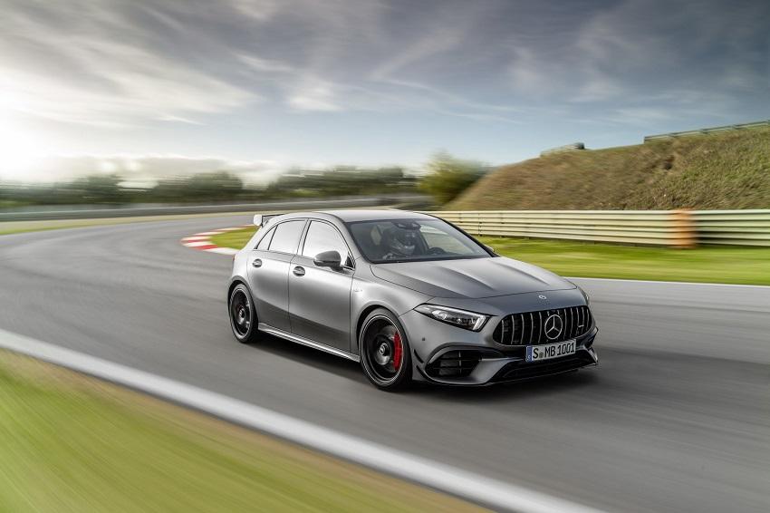 Siêu xe hiệu suất cao AMG A 45 và CLA 45 của Mercedes sở hữu thân xe nhỏ gọn - 13