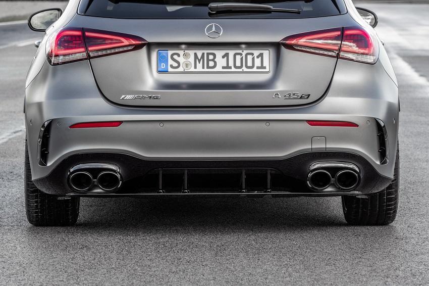 Siêu xe hiệu suất cao AMG A 45 và CLA 45 của Mercedes sở hữu thân xe nhỏ gọn - 27