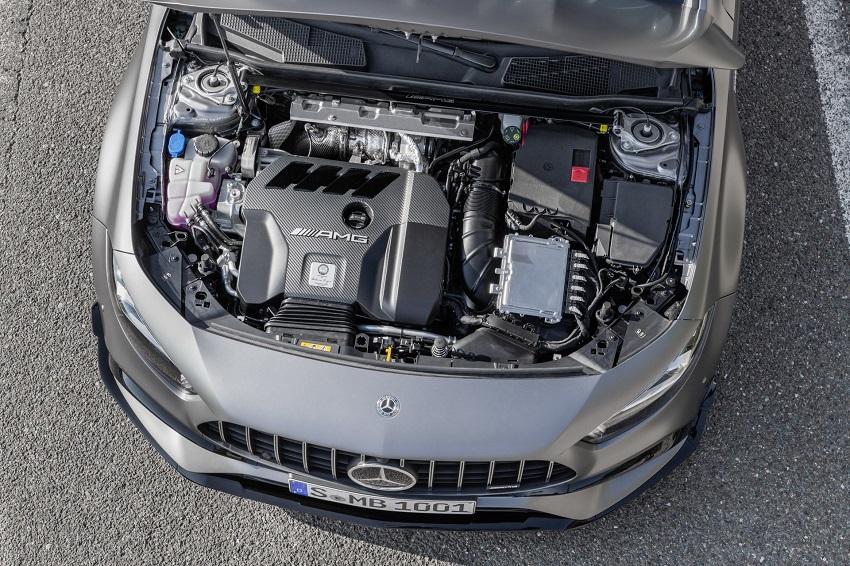 Siêu xe hiệu suất cao AMG A 45 và CLA 45 của Mercedes sở hữu thân xe nhỏ gọn - 38