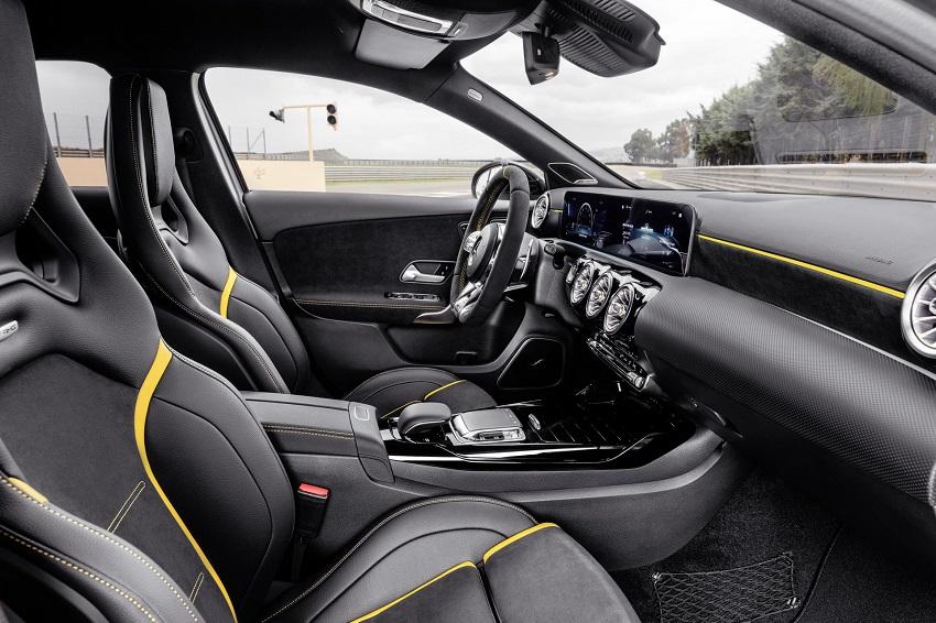 Siêu xe hiệu suất cao AMG A 45 và CLA 45 của Mercedes sở hữu thân xe nhỏ gọn - 4