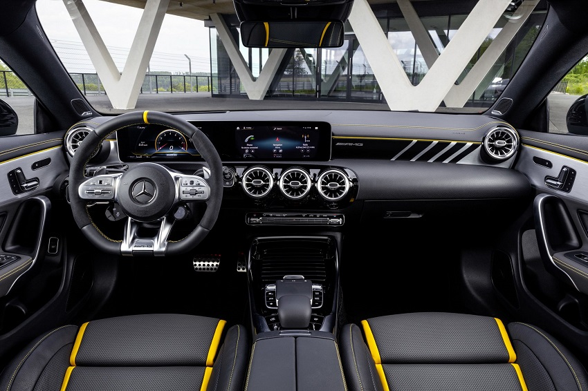 Siêu xe hiệu suất cao AMG A 45 và CLA 45 của Mercedes sở hữu thân xe nhỏ gọn - 46