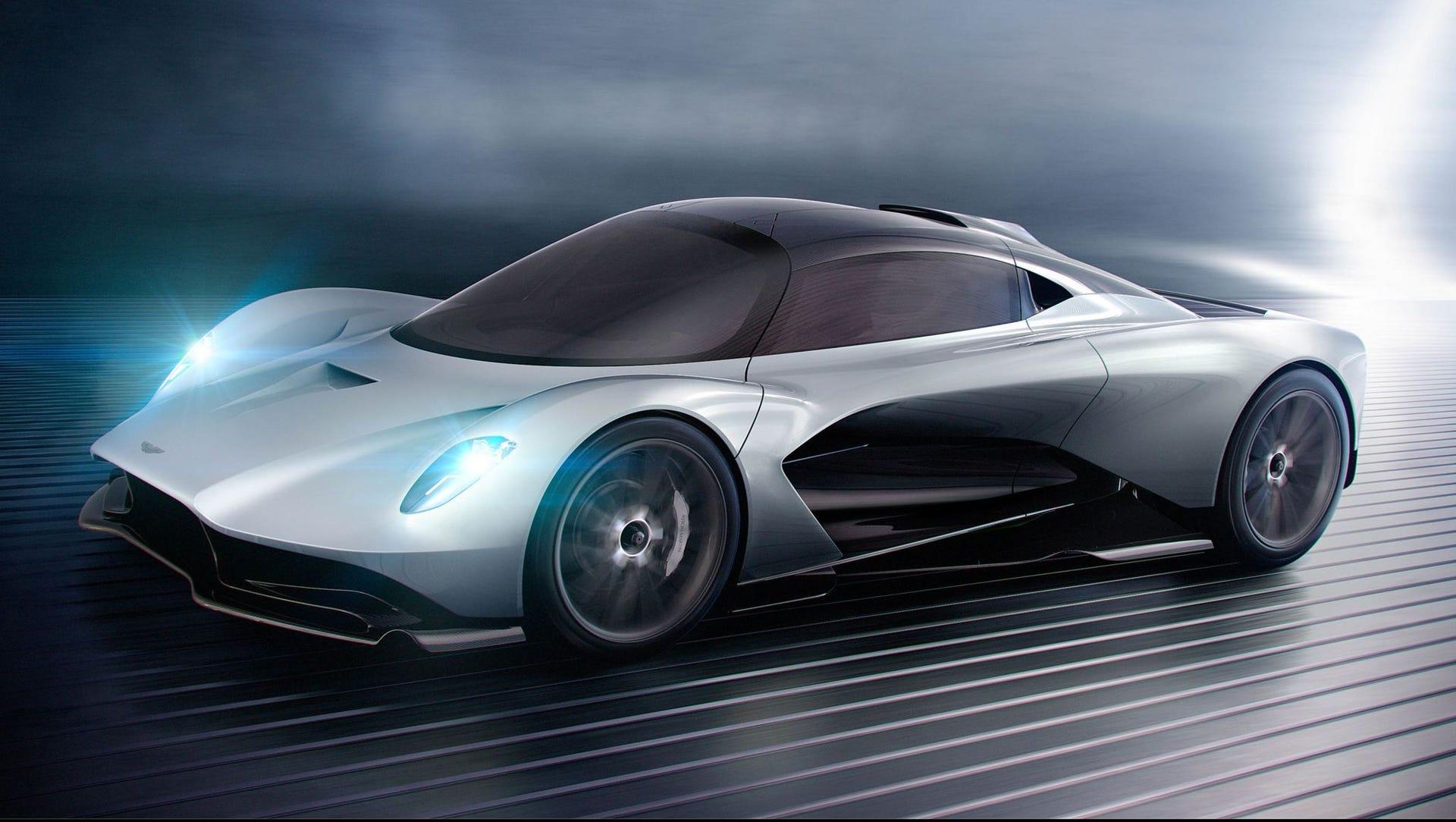 Siêu xe Valhalla của Aston Martin sẽ xuất hiện trong bộ phim Bond 25 - 4