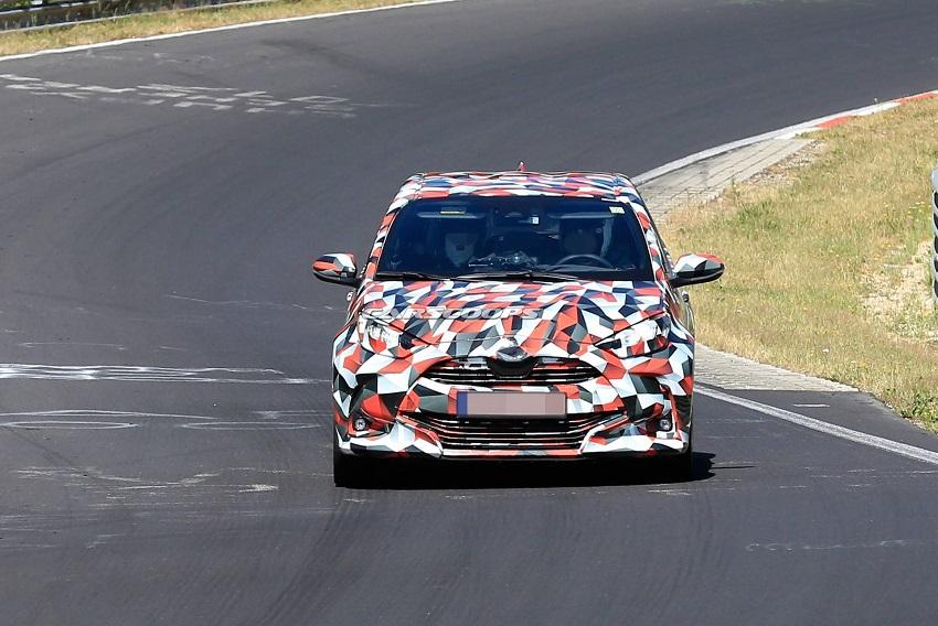 Lộ diện Toyota Yaris 2020 phiên bản GR và Hybrid ẩn mình sau lớp ngụy trang - 6