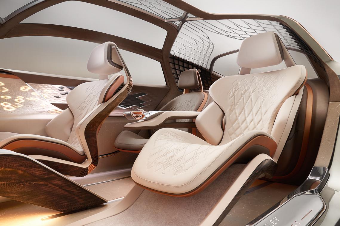 Mẫu xe ý tưởng Bentley EXP 100 GT, xe tự lái tương lai kỷ niệm 100 năm di sản Bentley - 2