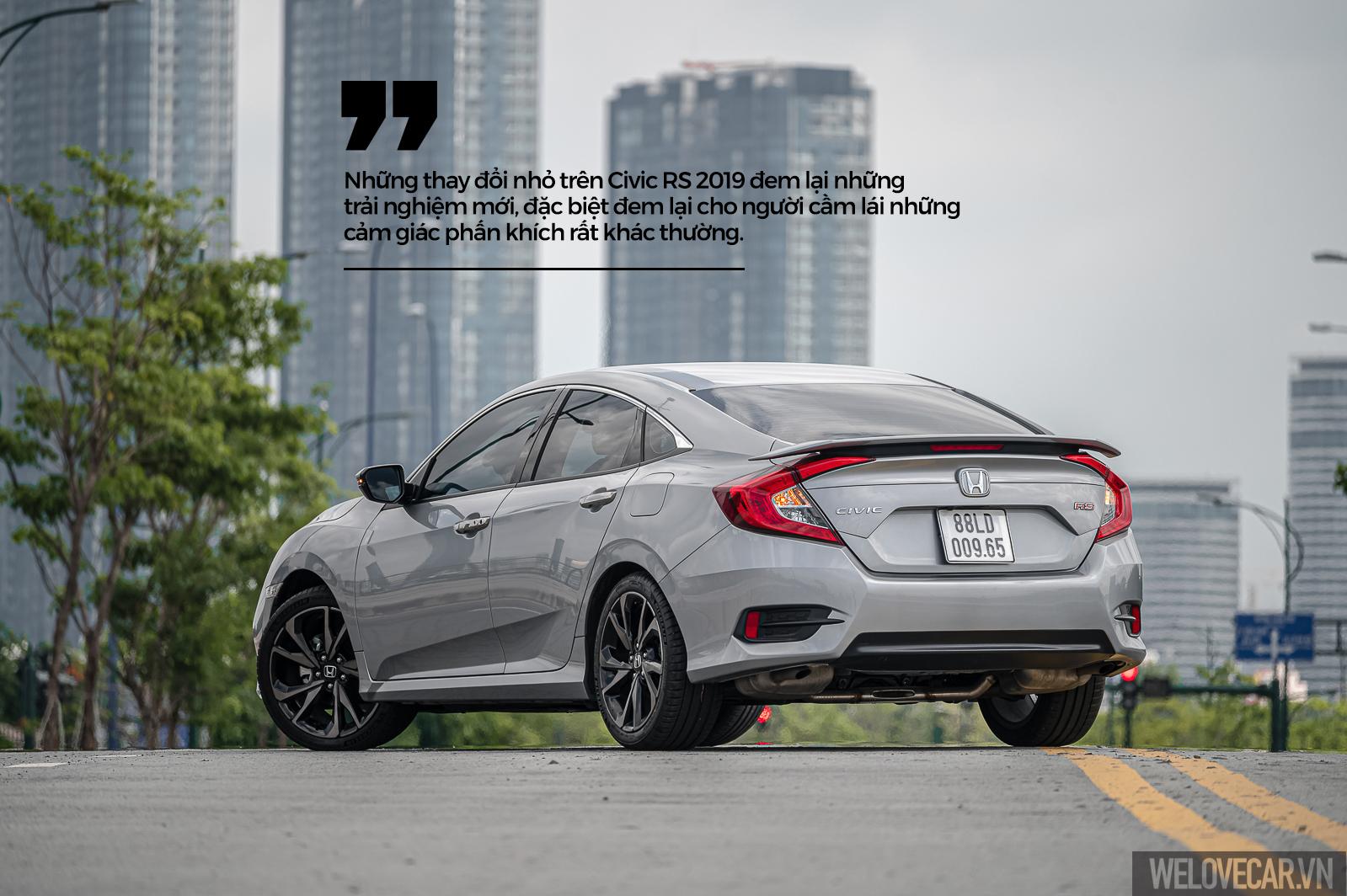Những trải nghiệm mới Honda Civic RS: mạnh mẽ, đam mê và đầy khác biệt - 1