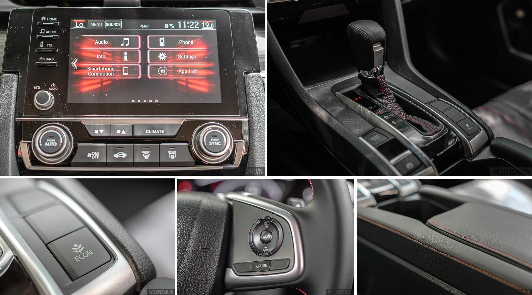 Những trải nghiệm mới Honda Civic RS: mạnh mẽ, đam mê và đầy khác biệt - 23