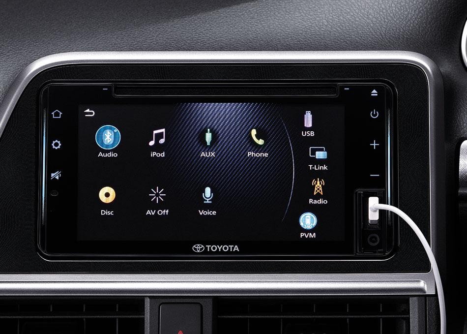 Toyota Sienta phiên bản nâng cấp 2019 - 21