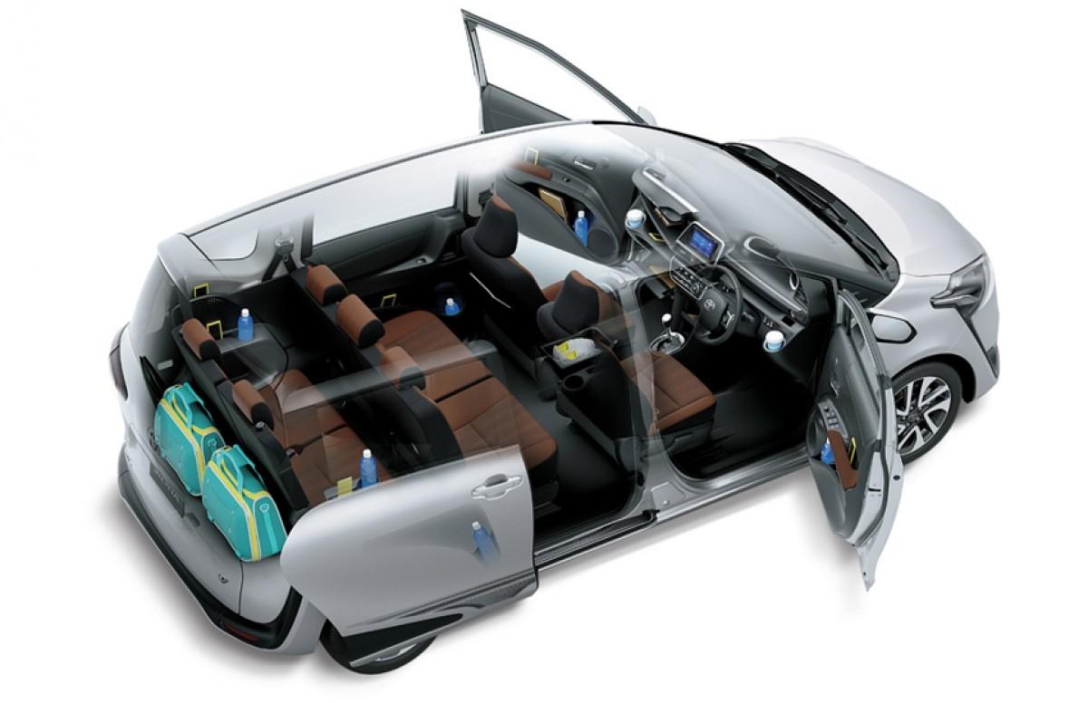 Toyota Sienta phiên bản nâng cấp 2019 - 41