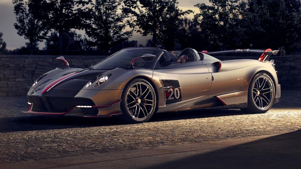 Huayra Roadster BC mới của Pagani siêu phẩm Hypercar V12 đắt giá 3,4 triệu USD - 11