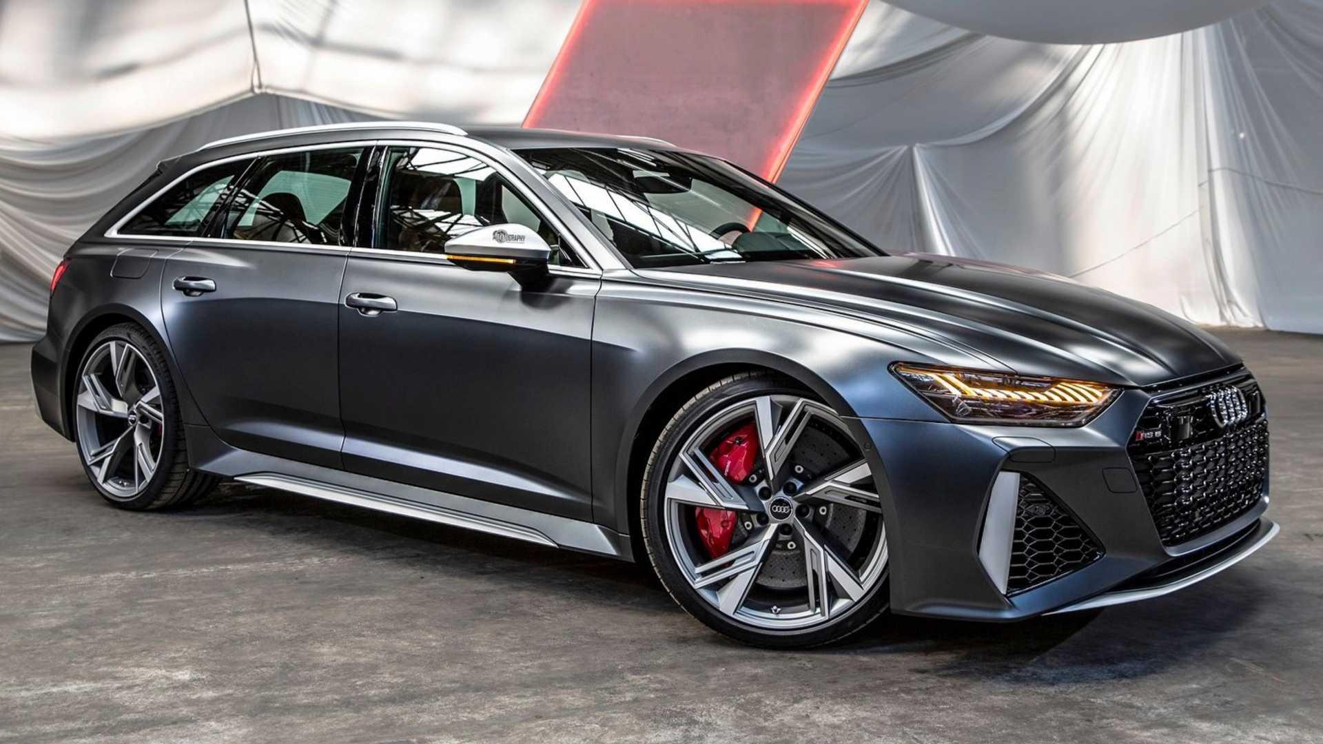 Audi RS6 Avant lần đầu ra mắt tại Mỹ kỷ niệm 25 năm dòng xe RS của Audi - 4