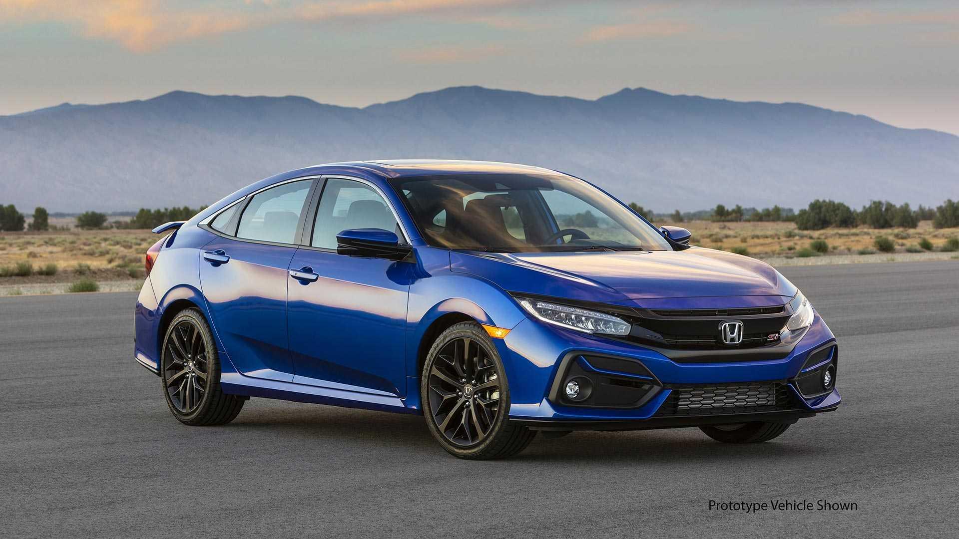 Khám phá Honda Civic Si 2020 phiên bản thể thao - 24