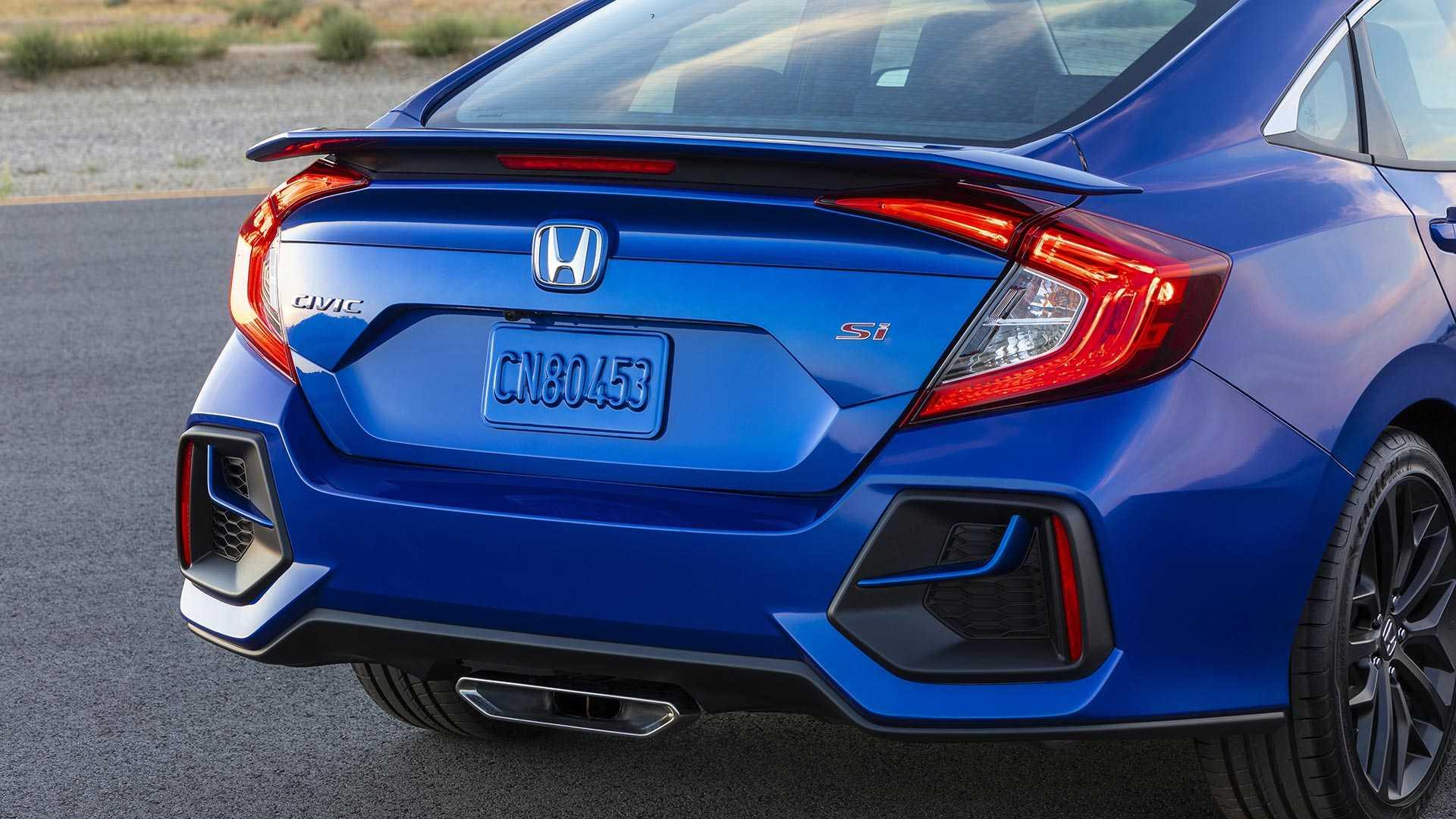 Khám phá Honda Civic Si 2020 phiên bản thể thao - 25