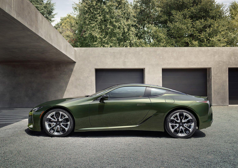Lexus LC 500 Inspiration Series 2020 với màu xanh rêu quyến rũ phiên bản giới hạn - 5