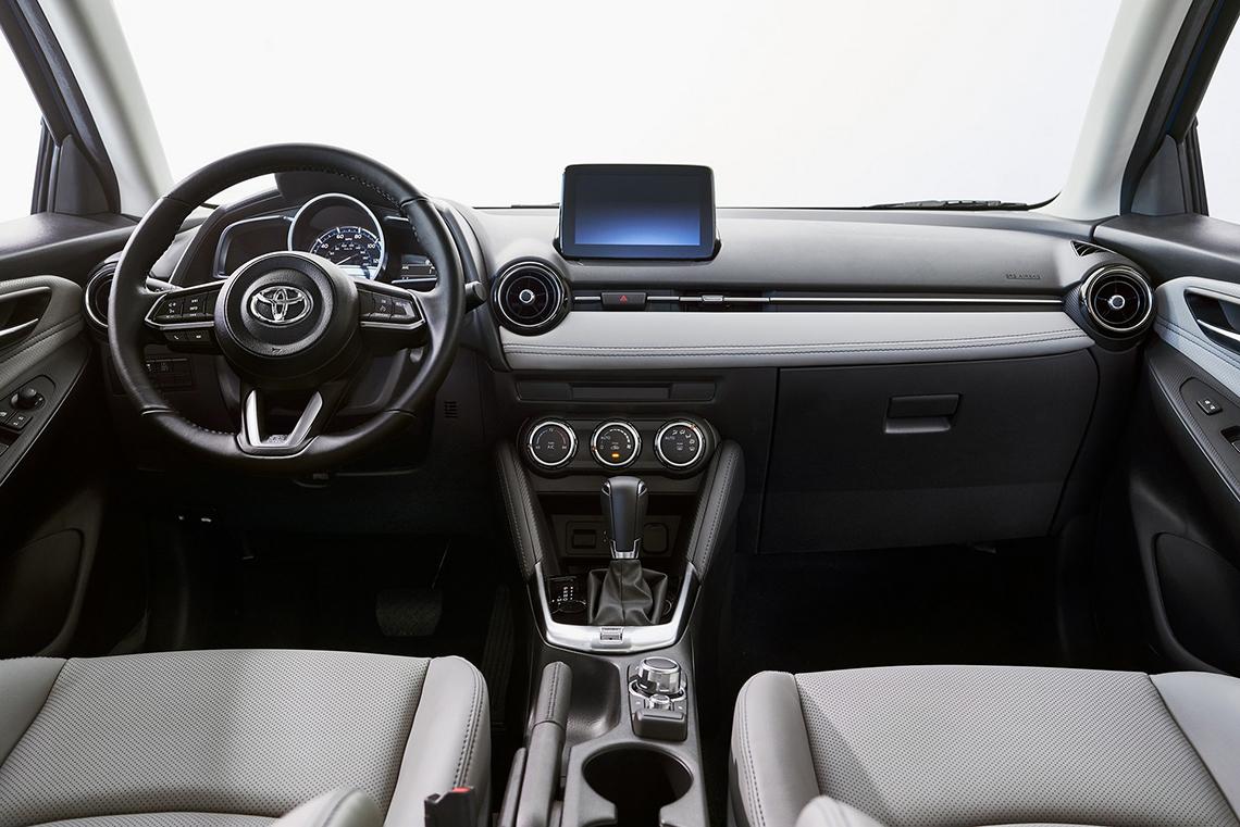 Toyota Yaris 2020 Hatchback có thiết kế giống Mazda2, giá từ 18.705 USD - 6