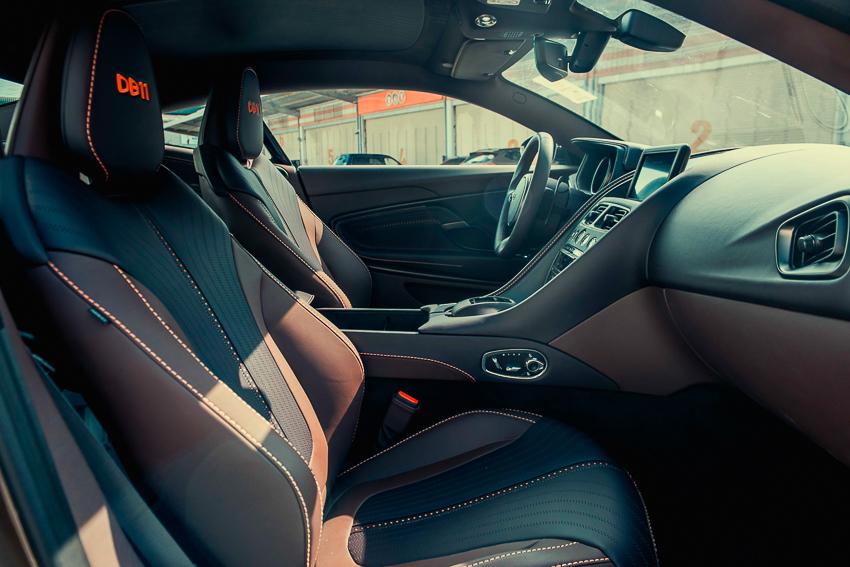Aston Martin DB11 V8 phiên bản độc Kopi Bronze vừa thông quan, chuẩn bị bàn giao đến chủ nhân - 15
