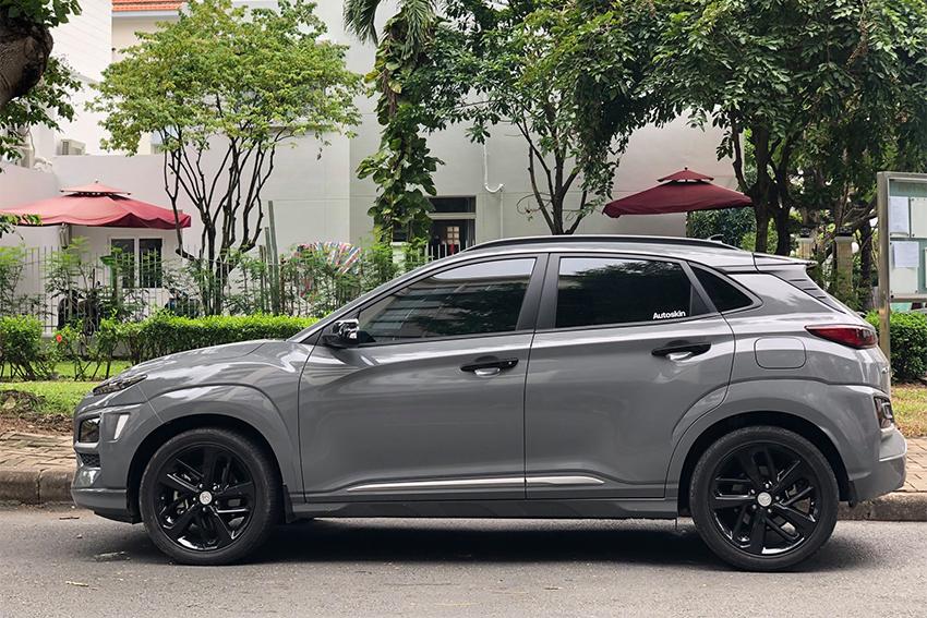 """Hyundai Kona sơn lại màu """"lạ"""" ở Việt Nam - 3"""