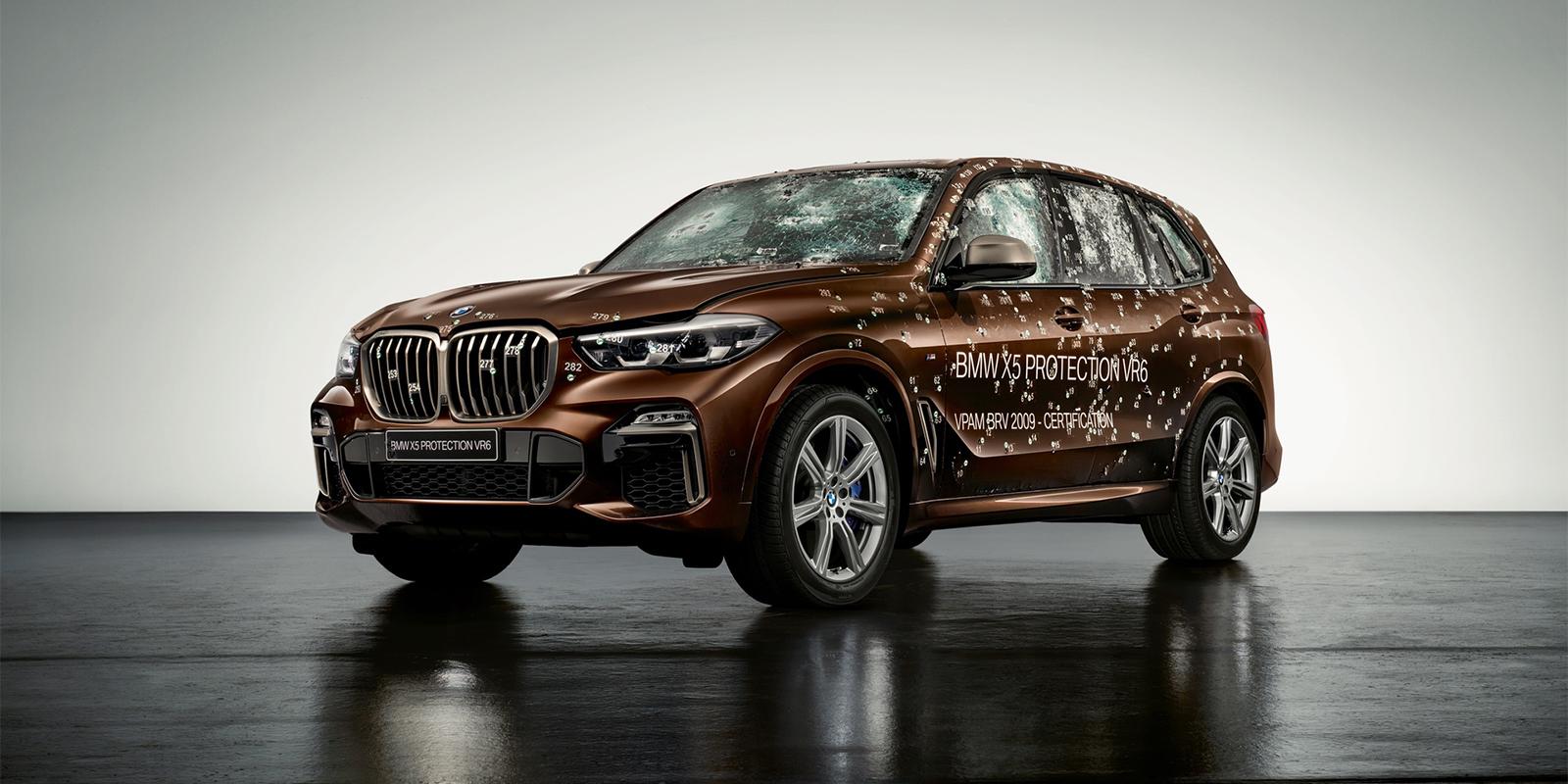 BMW X5 Protection VR6 - SUV bọc thép hạng sang - 04