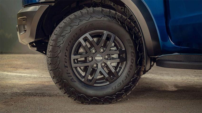 Ford Ranger Raptor tại Việt Nam chuyển sang dùng lốp Goodyear Wrangler - 04