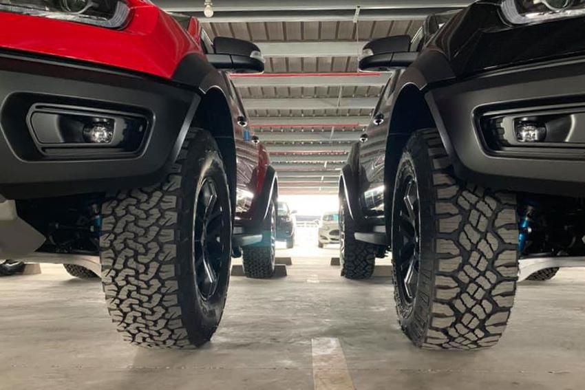 Ford Ranger Raptor tại Việt Nam chuyển sang dùng lốp Goodyear Wrangler - 05