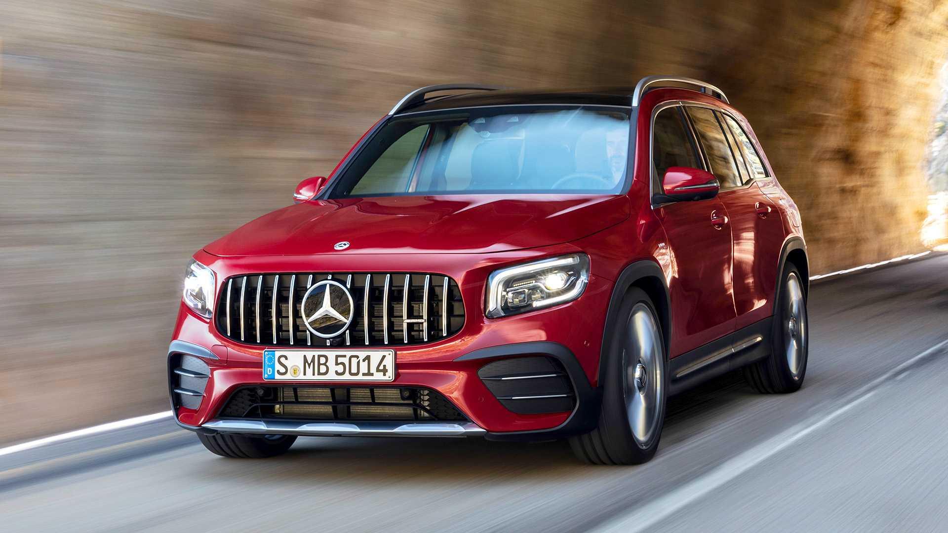 Mercedes-AMG GLB 35 - SUV cỡ nhỏ 7 chỗ mạnh hơn 300 mã lực 03