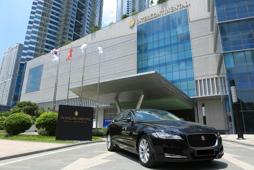 Jaguar Việt Nam bàn giao 3 xe XF Prestige cho Intercontinental Hanoi Landmark72 - 2