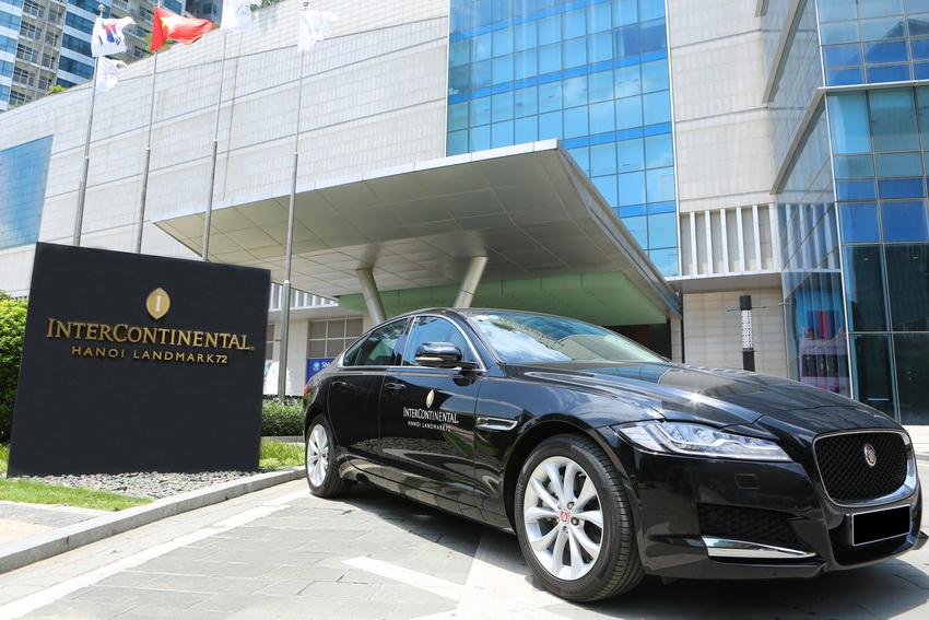 Jaguar Việt Nam bàn giao 3 xe XF Prestige cho Intercontinental Hanoi Landmark72 - 4