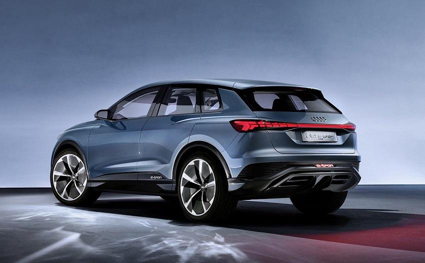 Audi Q4 E-Tron sẽ có đèn pha và đèn hậu tùy chọn cho khách hàng - 3