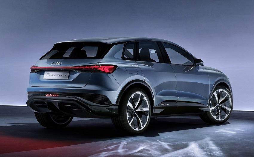 Audi Q4 E-Tron sẽ có đèn pha và đèn hậu tùy chọn cho khách hàng - 4