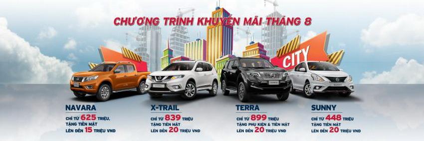 Bảng giá xe Nissan cập nhật mới nhất tháng 8-2019 - 3
