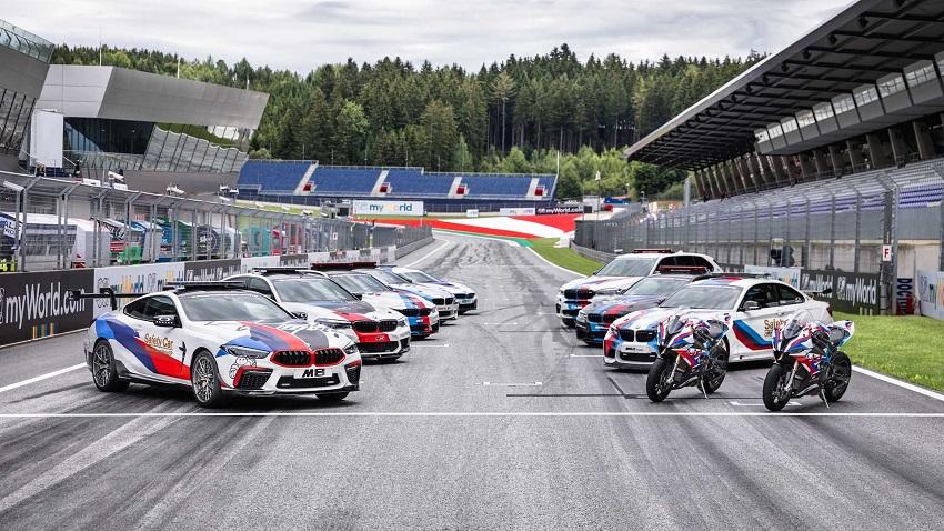 BMW M8 Competition MotoGP Safety Car công suất 617 mã lực - 1