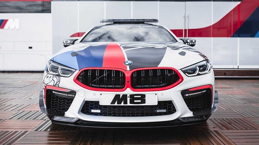 BMW M8 Competition MotoGP Safety Car công suất 617 mã lực - 2